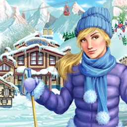 Ski Resort Mogul - Ski Resort Mogul is the perfect snowy distraction from your daily grind! - logo