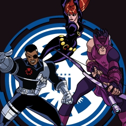 Skrull Takedown - Hawkeye and Black Widow are sent into a HYDRA stronghold by Nick Fury on a secret mission.  Can these Avengers survive? - logo