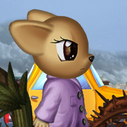 Sky Taxi: GMO Armageddon - Only Mitch, a brave mouse, can save the world from destruction in the kids game Sky Taxi: GMO Armageddon! - logo