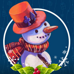 Solitaire Christmas: Match 2 Cards - Match pairs of cards and clear the board in Solitaire Christmas: Match 2 Cards! - logo