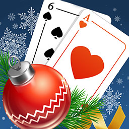 Solitaire Game Christmas - Solitaire Game Christmas is the classic card game with a holiday twist! - logo