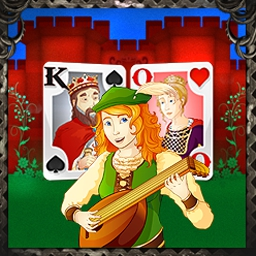 "Solitaire Kingdom Supreme - Solitaire Kingdom is a fresh new way to play your favorite Solitaire game! Earn points to win game-changing ""Kingdom Cards."" - logo"