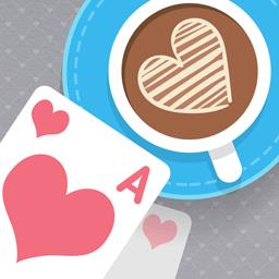 Solitaire Match 2 Cards: Valentine's Day - Match pairs of cards in the romantic game Solitaire Match 2 Cards: Valentine's Day! - logo