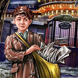 Solitaire Mystery Four Seasons - In the City of Magic Cards, time has stopped.  Only you can help this magical land in Solitaire Mystery: Four Seasons. - logo