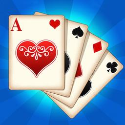 Solitaire Wonders - Play Klondike Solitaire against an opponent in the online card game Solitaire Wonders! - logo