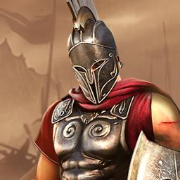 Sparta: War of Empires - Welcome to ancient Greece. Build your city-state and stop an invading army in the strategy, simulation online game Sparta: War of Empires. - logo