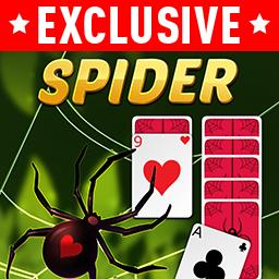 Spider Solitaire with Themes - Choose a theme to make this classic card game YOUR game! Which theme will you pick? Play Spider Solitaire with Themes FREE! - logo