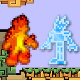 Spirit Run - Fire vs. Ice - Evade traps by transforming between fire and ice in this clever runner. Play Spirit Run - Fire vs. Ice today! - logo