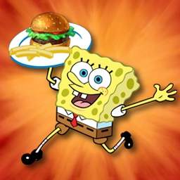 SpongeBob Diner Dash - Soak up five-star feeding fun with everyone's favorite sponge... - logo