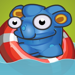 Sticky Linky - Match globs to create new creatures in this super wacky puzzle game! See if you can beat every level to become the king of the globs! - logo