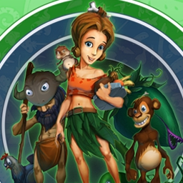 Stone Age Cafe - Manage a cafe in the stone age era to save your tribe from hunger. Play Stone Age Cafe today! - logo