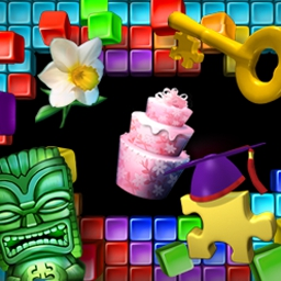 Super Collapse Puzzle Gallery 5 - Clear 300 perplexing puzzles in Super Collapse Puzzle Gallery 5! - logo