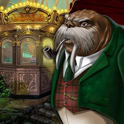 Tales of Lagoona 2: Peril at Poseidon Park - Your grandparents' amusement park is in trouble! Save it in the beautiful hidden object game Tales of Lagoona 2: Peril at Poseidon Park! - logo