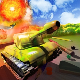 Tank-o-Box - Discover the action-packed remake of a classic arcade battle tank game. - logo