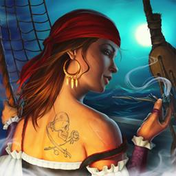 Tempest - How will you captain your pirate ship in Tempest? Plunder. Battle. Sail. Play this strategy game today! - logo