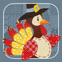 Thanksgiving Day Mosaic - Turkeys and pies... oh my! Solve 120 patchwork puzzles in Thanksgiving Day Mosaic! - logo
