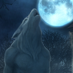 The Curse of the Werewolves - Welcome to The Curse of the Werewolves - a hidden object adventure game with blood-chilling visuals and an enthralling storyline. - logo