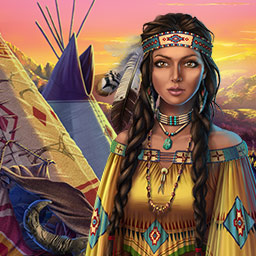 The Dream Catcher Chronicles: Manitou - Enter the spirit world to save your husband in The Dream Catcher Chronicles: Manitou, a hidden object game. - logo