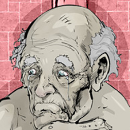 """The Grandfather - """"The Grandfather"""" is a story driven point & click Puzzle/Horror game about torment and sorrow. - logo"""