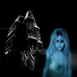 The Haunted House Mysteries - Will you be able to keep calm? Investigate a house inhabited by an eerie presence in the creepy hidden object game The Haunted House Mysteries. - logo