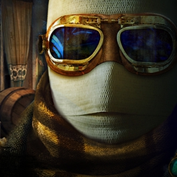 The Invisible Man - Based on the famous novel by H. G. Wells, this hidden object game places you in the story of The Invisible Man. - logo