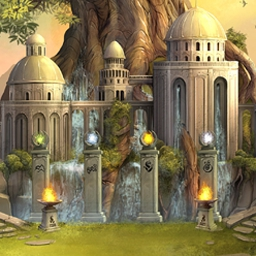 The Lost Kingdom Prophecy - The Lost Kingdom Prophecy features hidden object and matching levels! - logo