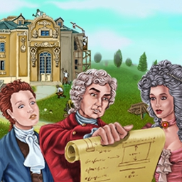 The Palace Builder - The Palace Builder is a building sim. game set in 18th century France! - logo