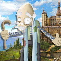 The Scruffs: Return of the Duke - The Scruffs: Return of the Duke is a funny, exciting hidden object adventure. Help Scrufford before it's too late! - logo