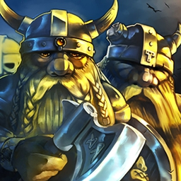 300 Dwarves - Lead a legendary, dwarven mercenary band against the formidable green horde in the tower defense game 300 Dwarves! - logo