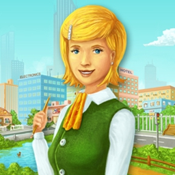 Time to Hurry: Nicole's Story - This combination of time management and hidden object game will keep you on your toes! Play Time to Hurry: Nicole's Story now! - logo