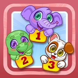 Tiny Tots Zoo Volume 1-3 - Tiny Tots Zoo Volume 1-3 offers 50+ puzzles for children aged 2-6. You adjust the difficulty. - logo