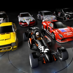 Track Mania United - TrackMania lets you build incredible racetracks with crazy design elements! - logo