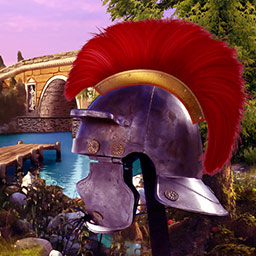Treasures of Rome - Help Caesar's bravest Centurion and discover hidden treasures as you explore ancient Rome in this stunning match 3 game! - logo