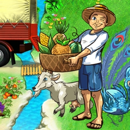 Tropical Farm - Plant, grow, and harvest a field full of fun in Tropical Farm! - logo