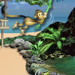Tropix Deluxe - Go on vacation with Tropix Deluxe, a fun match-3 and puzzle game! Visit exotic islands where life is just a game. - logo