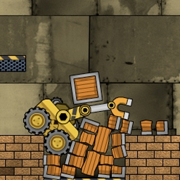 Truck Loader 2 - In Truck Loader 2, the loader has some new tricks up his sleeve and the warehouse is an obstacle course!  Play this FREE online arcade game! - logo