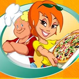 Turbo Pizza - Turbo Pizza, a restaurant-arcade game, is the recipe for fast family fun! - logo