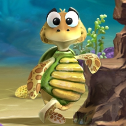 Turtle Odyssey 2 Online - Turtle Odyssey 2 is 50 levels of beautiful, classic arcade action. - logo