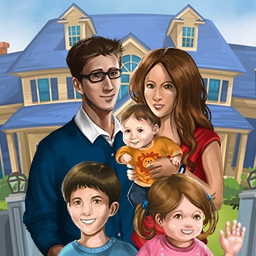 Virtual Families 2 - Who knew that people lived inside your computer?  Adopt a teeny, tiny person, who needs your help, in Virtual Families 2: Our Dream House. - logo