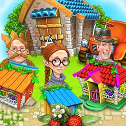 Virtual Farm 2 - Raise bumper crops and sell them for a profit in Virtual Farm 2, a delicious time management game! - logo