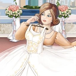 Wedding Salon - In Wedding Salon, a time management game, help each customer pull off the perfect wedding! - logo