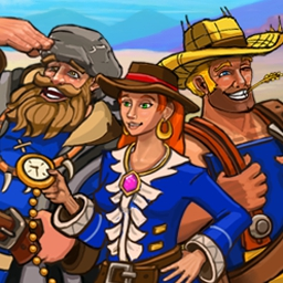 Westward II - Heroes of the Frontier - Build a pioneer town and bring an outlaw gang to justice in Westward 2! - logo