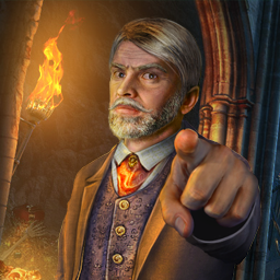 Whispered Secrets: Golden Silence - Follow the missing man's trail through an expansive game world to break the silence in this intriguing Hidden Object Puzzle Adventure game! - logo