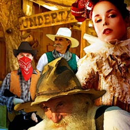 Wild West Quest - Delve into 50 beautiful Wild West locations and meet dozens of iconic western characters on a Wild West Quest like no other! - logo