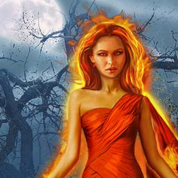 Witch Hunters: Full Moon Ceremony - Defeat these evil witches in the hidden object game Witch Hunters: Full Moon Ceremony! - logo