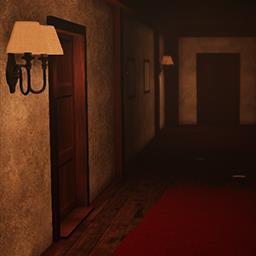 Wooden Floor 2: Resurrection - The game is telling the story of Andrew Winter, an alcoholic living in a small cabin near the woods. - logo