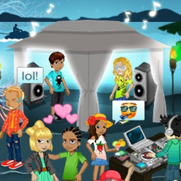 Woozworld - Woozworld is a virtual world for young teens to explore, play, and talk! Your style. Your friends. Your business. Come rock Woozworld! - logo