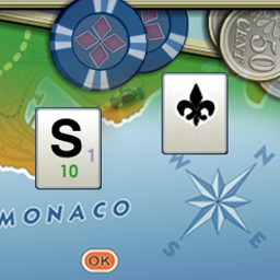 Word Monaco - Pack your bags and sunscreen for the stylish version of solitaire!  No passport required. - logo