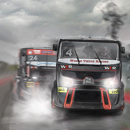 World Truck Racing - World Truck Racing will have you racing a semi around the track! Get behind the wheel! - logo