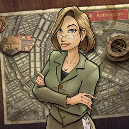Youda Legend: The Curse of the Amsterdam Diamond - Enjoy puzzling through old city mysteries and searching for clues? Play Youda Legend: The Curse of the Amsterdam Diamond! - logo